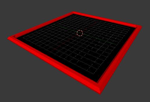 empty tile model
