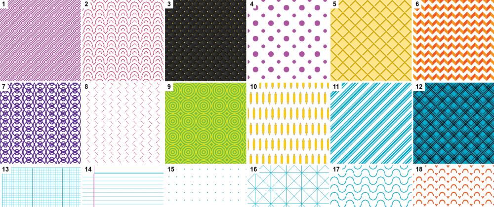 Cover image for 100 Background Patterns with CSS Gradients
