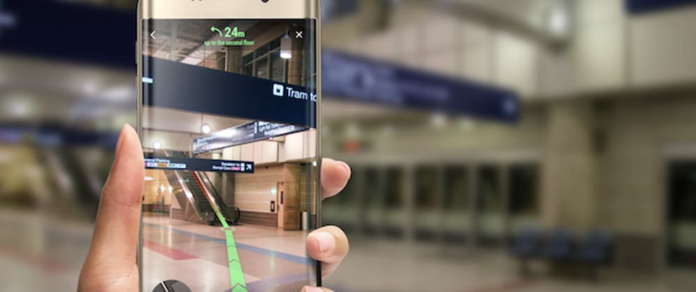 Cover image for How to use ARKit for indoor positioning app development