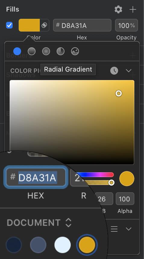 Create colors