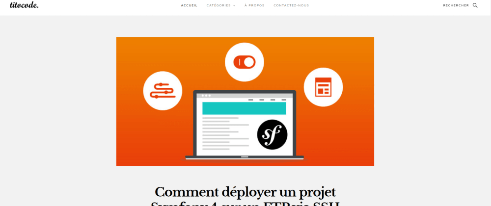 Cover image for How to deploy a symfony project on a web server via SSH & FTP
