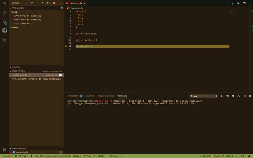 debugging preview