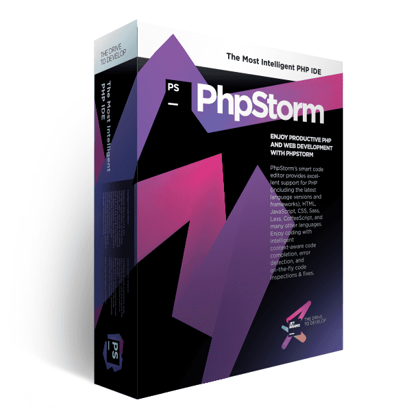 Boxshot of PhpStorm