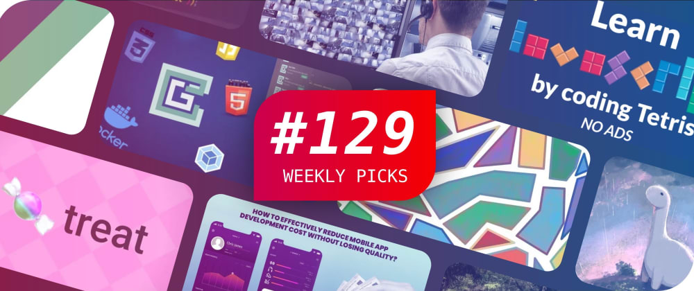 Cover image for 🔥 What's Hot in Web Development? — Weekly Picks #129