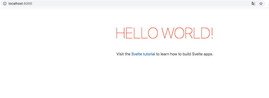 Browser with svelte