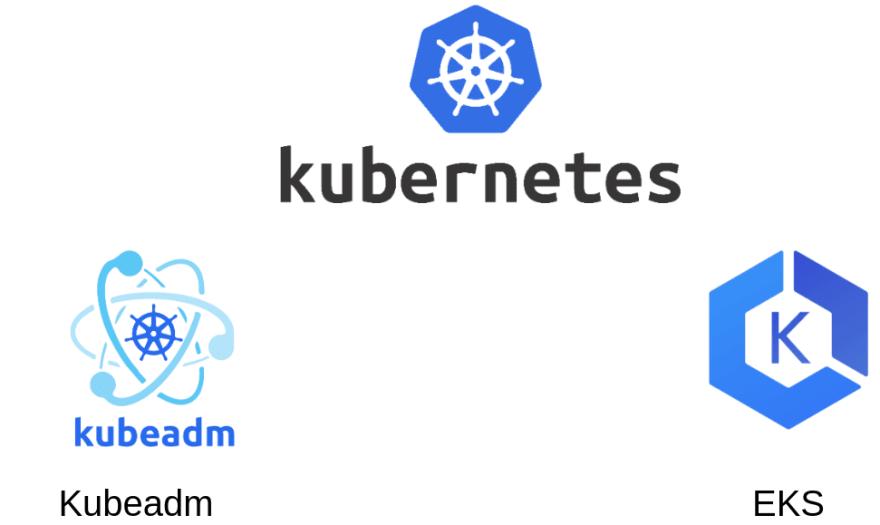 A hybrid approach: kubeadm locally and EKS remotely