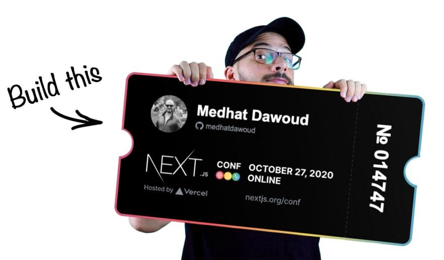 nextjs conf ticket