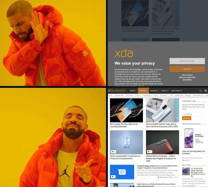 Drake Do Not Consent Meme