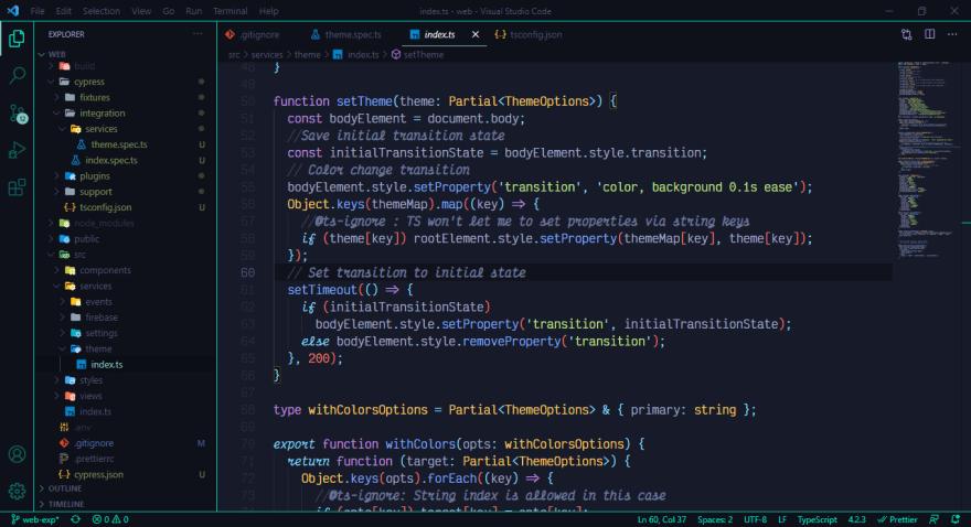 My Code Setup