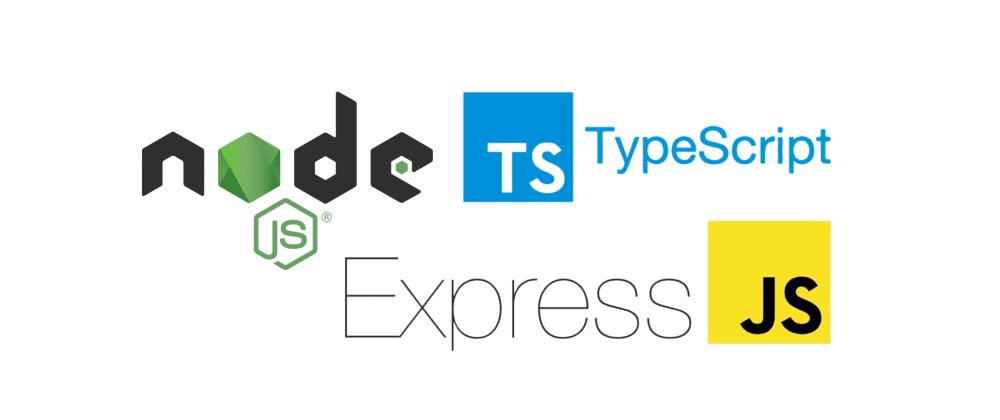 Cover image for Setup a Node Express API with TypeScript (2021)
