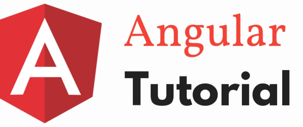 Cover image for Angular Tutorial