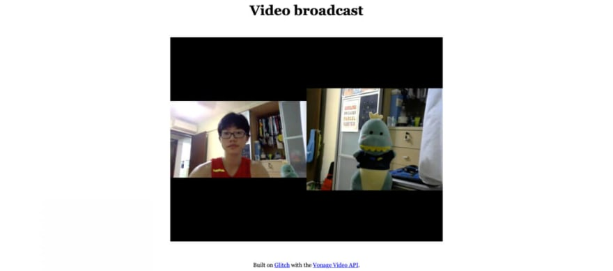 Broadcast page