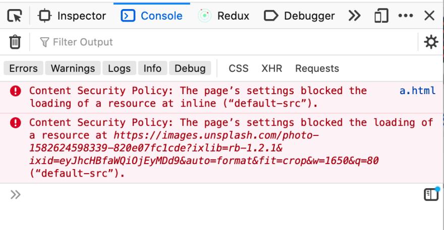 CSP block