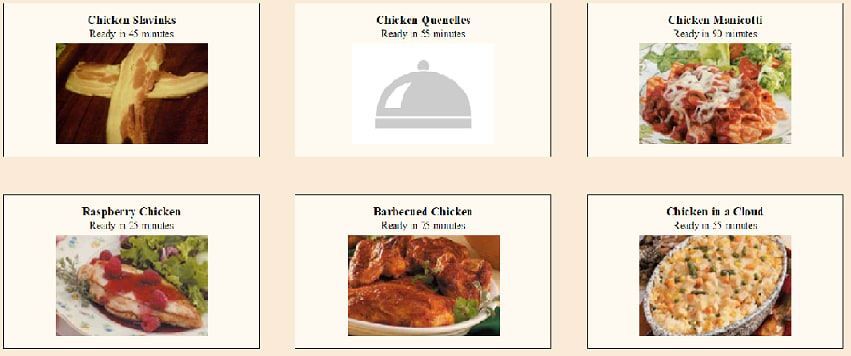 Whats Cookin Website Cards