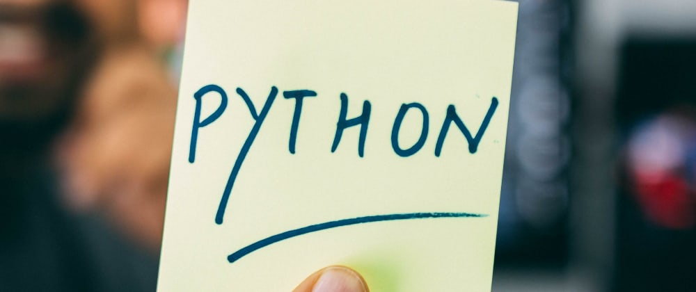 Cover image for Re-app back onto python.