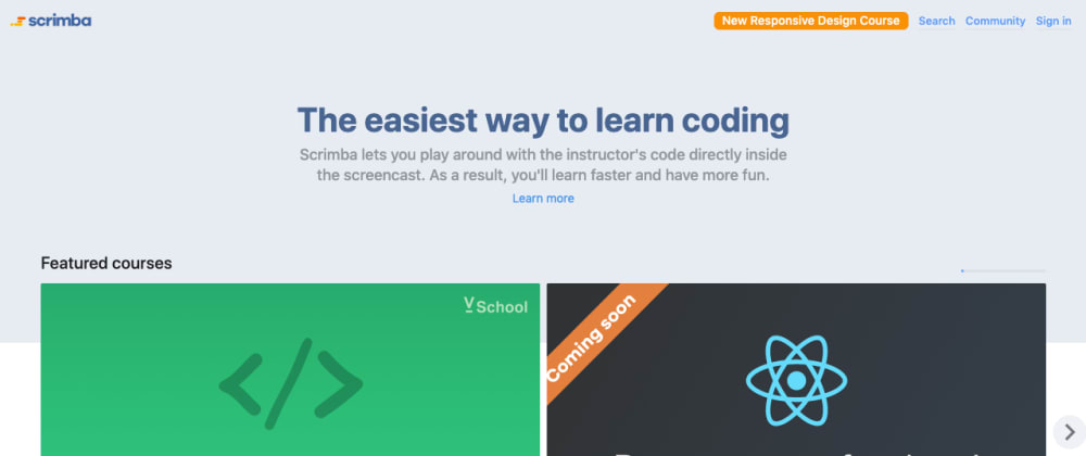 Cover image for Growing a platform for learning how to code - Interview with the founder of Scrimba