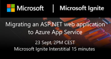 Migrating an ASP.NET web application to Azure App Service