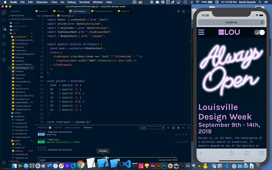 simulator and code editor