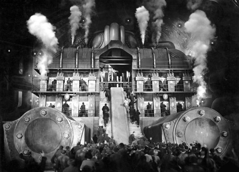 What server maintenance can feel like -- Metropolis (1927 film)