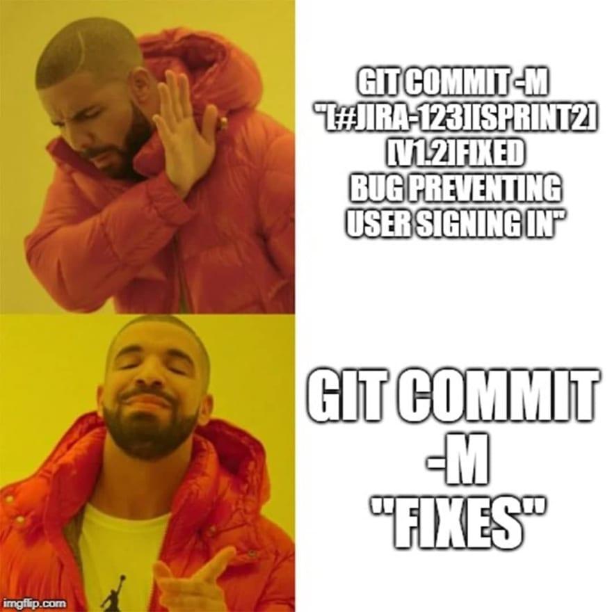 Descriptive commit messages