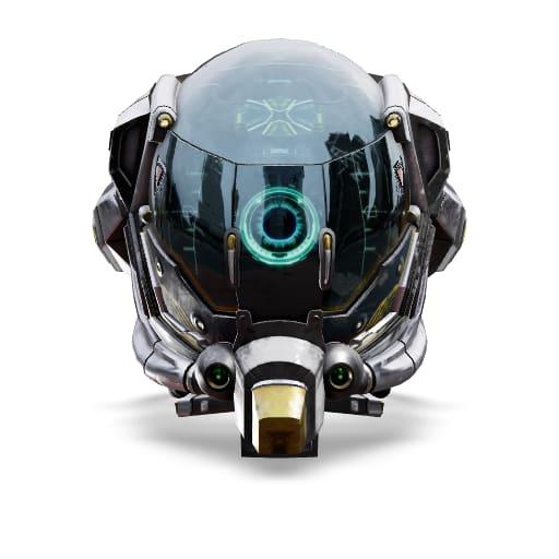 3D model of a helmet