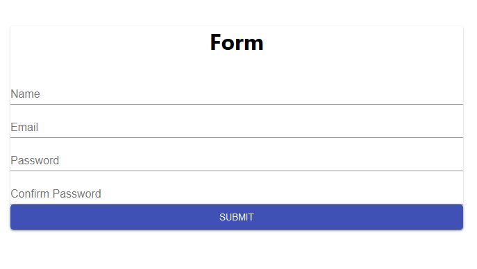 React Form using Formik, Material-UI and Yup  - DEV Community