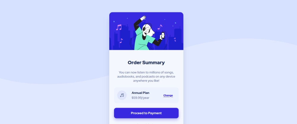 Cover image for Gorgeous Order Summary Component Using HTML and CSS