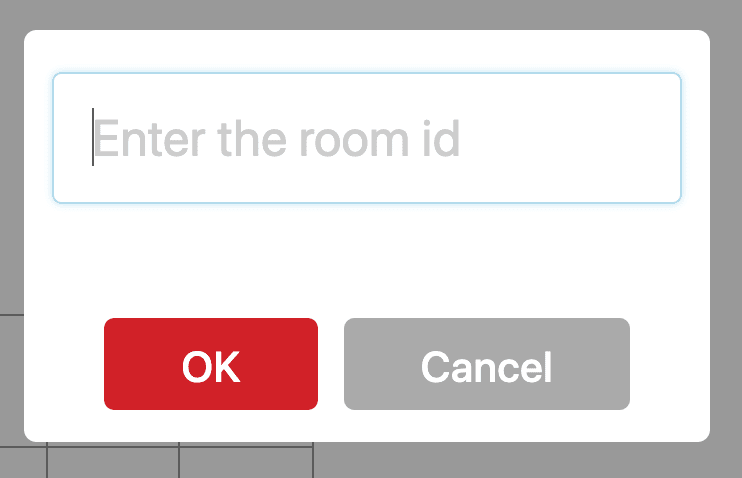 Enter the room id