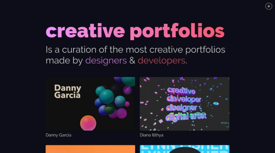 Creative Portfolios