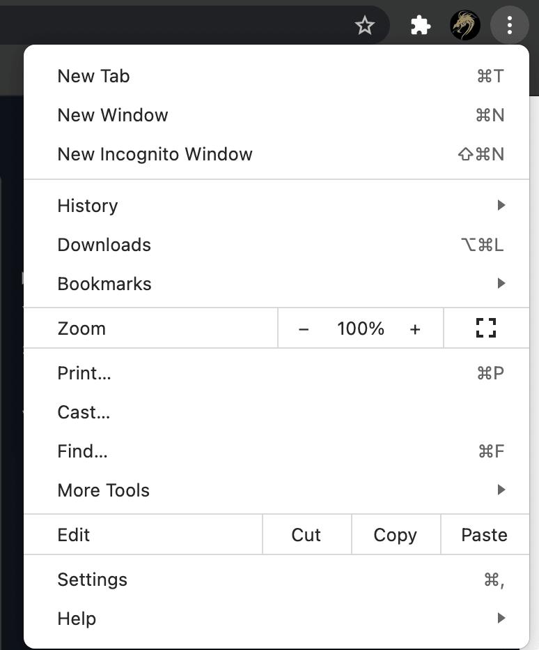 Website Zoom