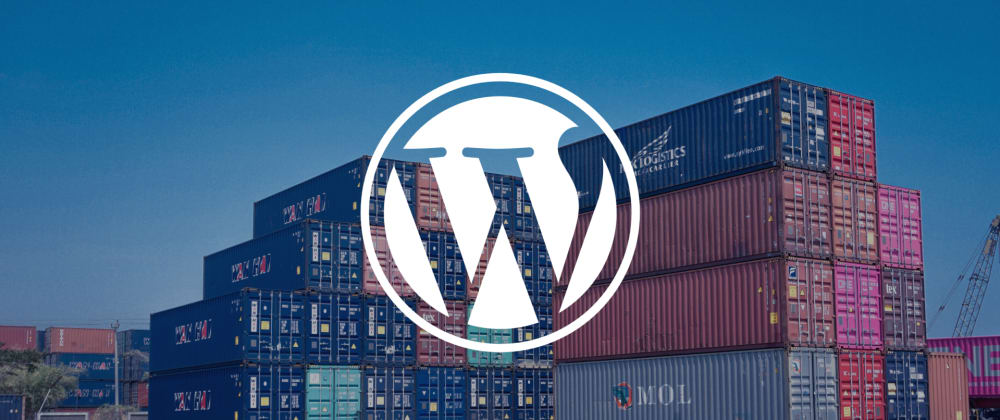 Cover image for Build a solid WordPress dev environment with Docker