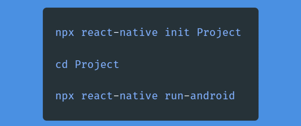 Cover image for Create your first React Native app with react-native cli as a beginner.