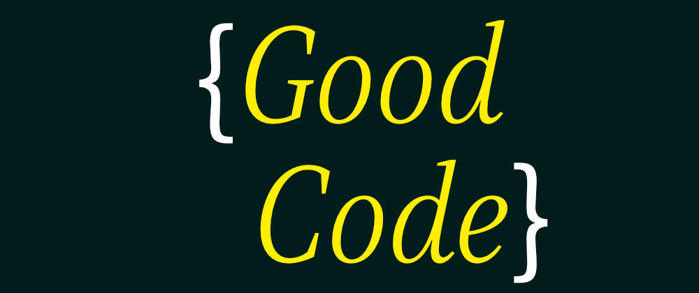 Cover image for Good code looks like...
