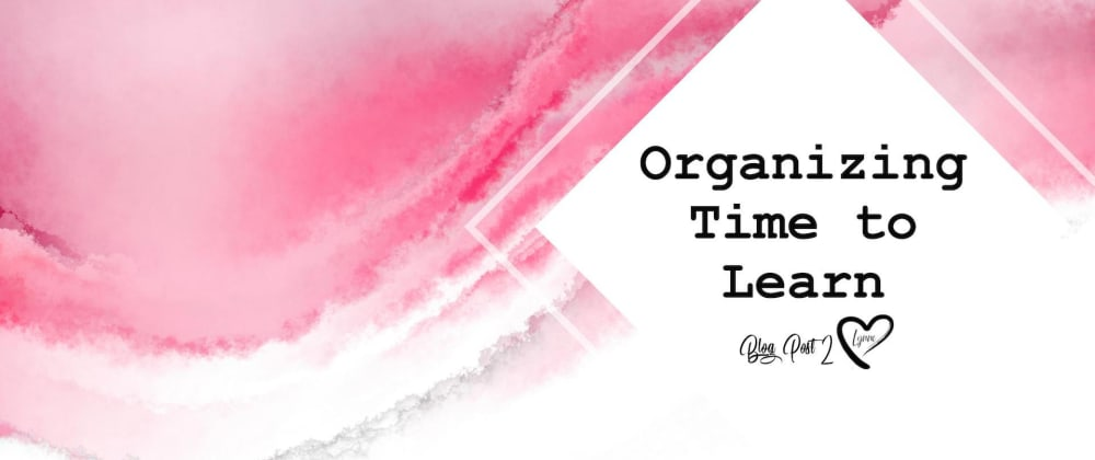 Cover image for Organizing Time to Learn