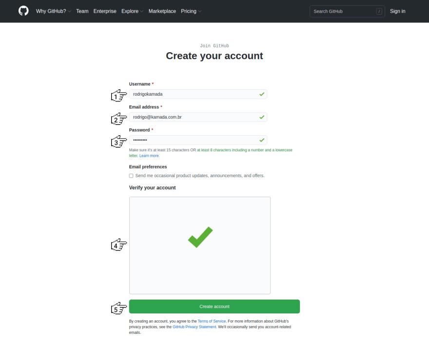 GitHub - Sign up