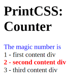 The new HTML and CSS