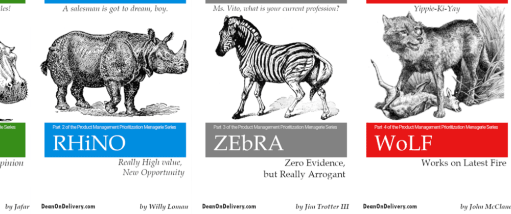 Cover image for The Product Management Prioritization Menagerie