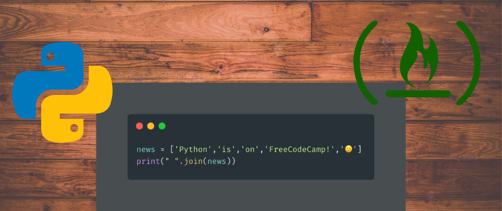 Cover image for freeCodeCamp has Python Certifications