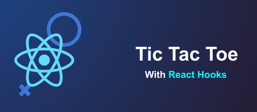 Tic Tac Toe with React hooks slide