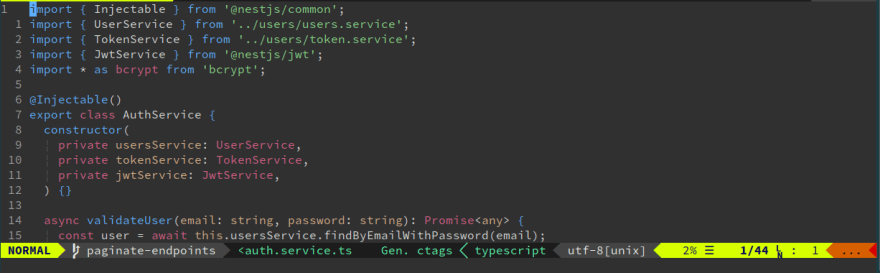 Typescript syntax highlight with Polyglot