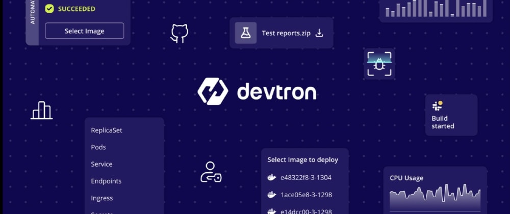 Cover image for Devtron, Heroku for Kubernetes, Open-source Delivery Workflow