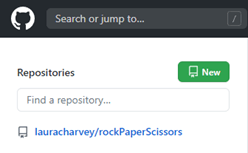 screenshot how to create a new repository in github
