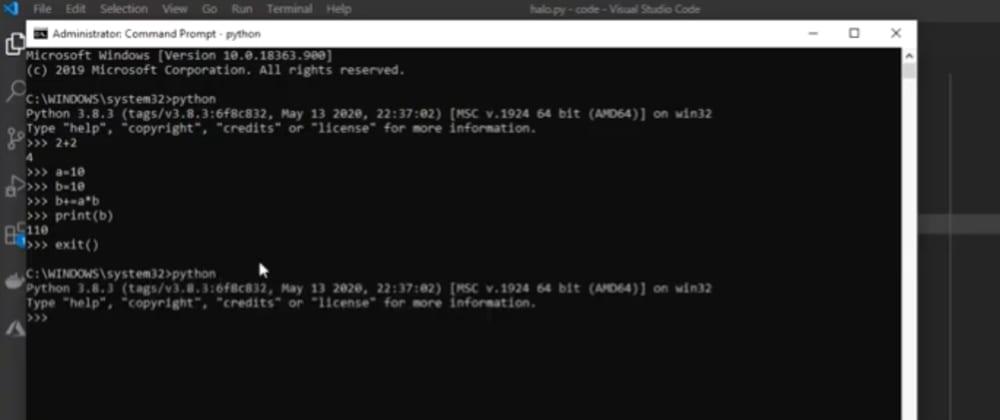 Cover image for Dasar-Dasar Python