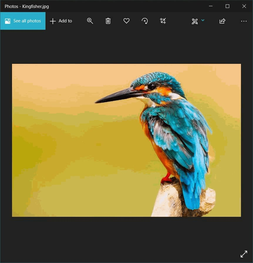 Changing image format