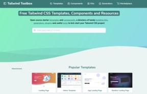 Tailwind toolbox website