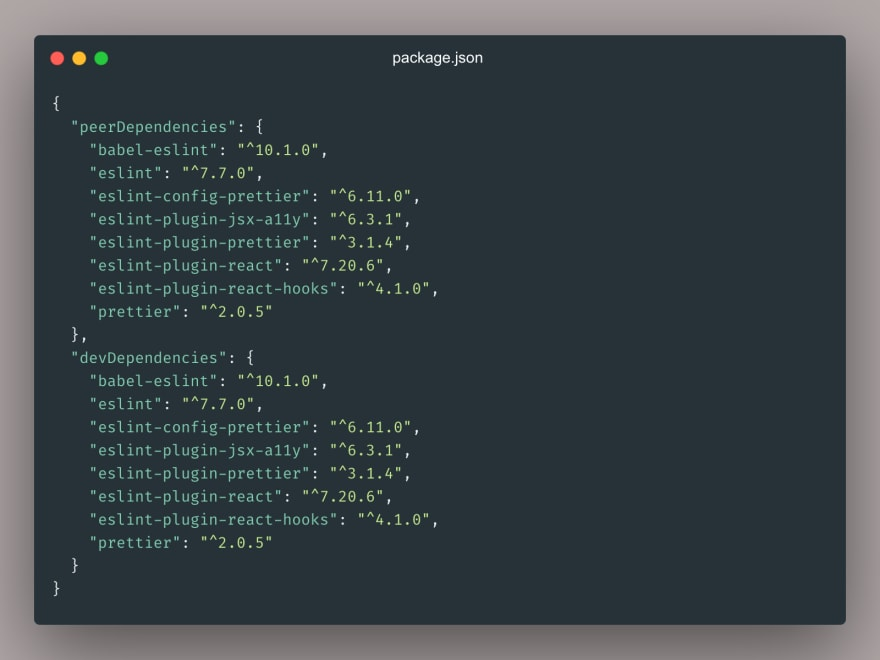 package json