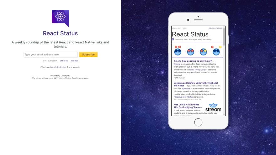 React statuscode