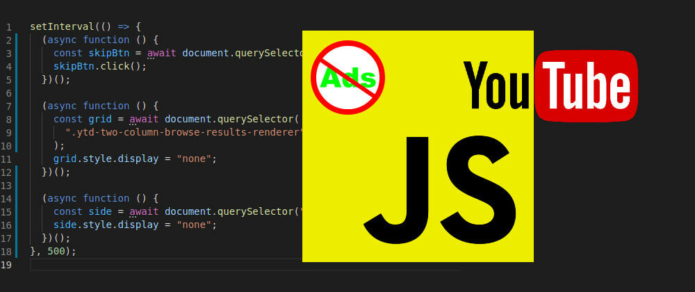 Cover image for Increase Your Productivity with YouTube and a Few Lines of JS Code