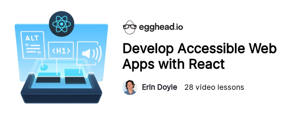 Cover image for Ship Accessible [React] Apps