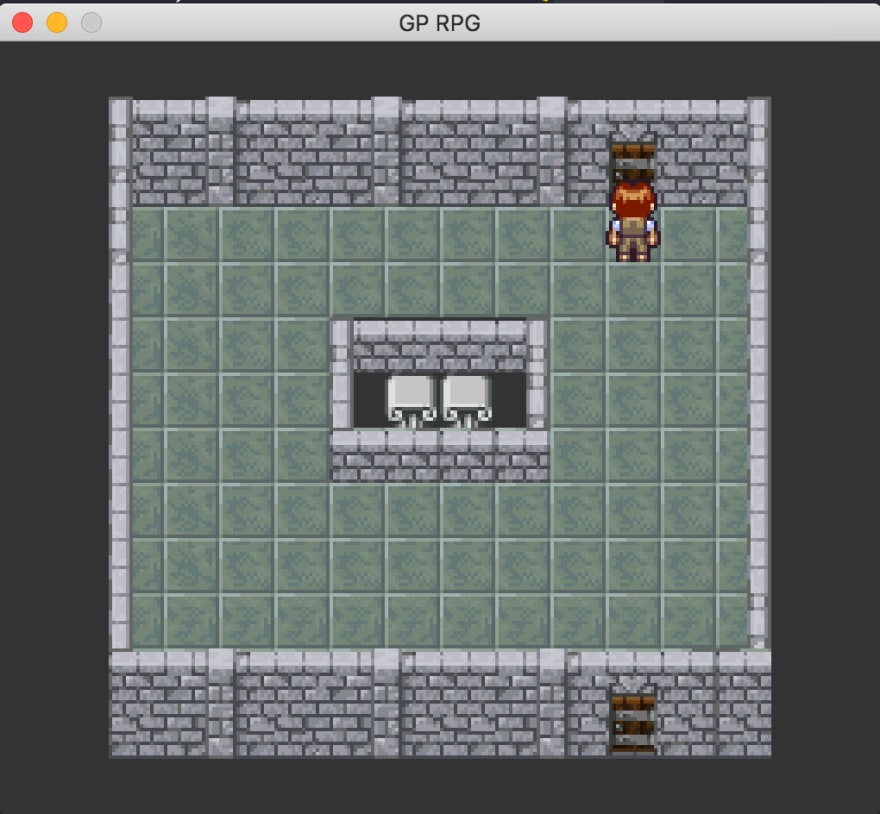 GoLang 2D game